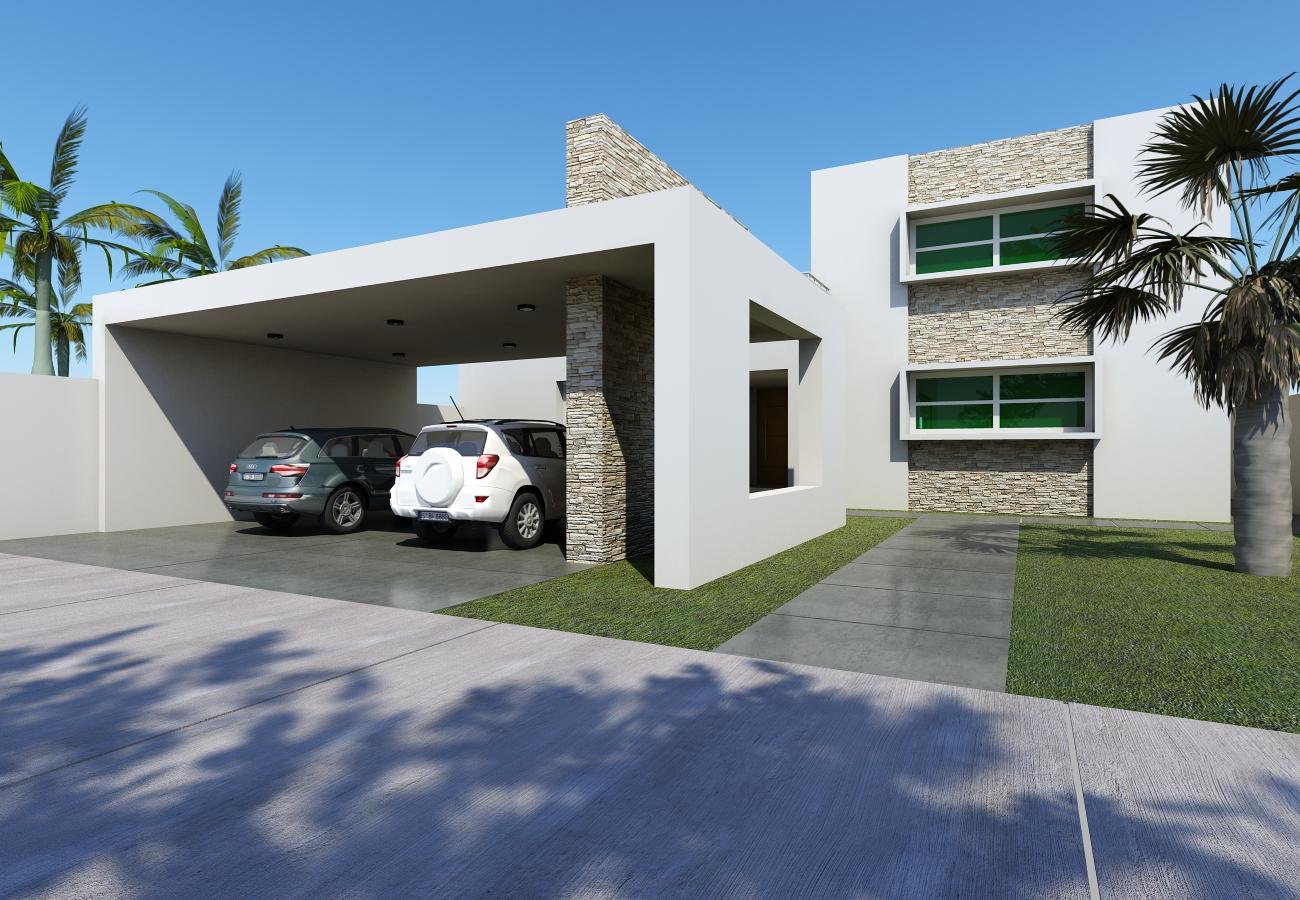 Jorge sepulveda residencia familia gonzales for Proyecto casa habitacion minimalista