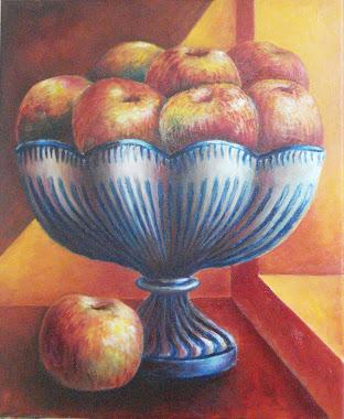 Frutero granadino con manzanas (8P)