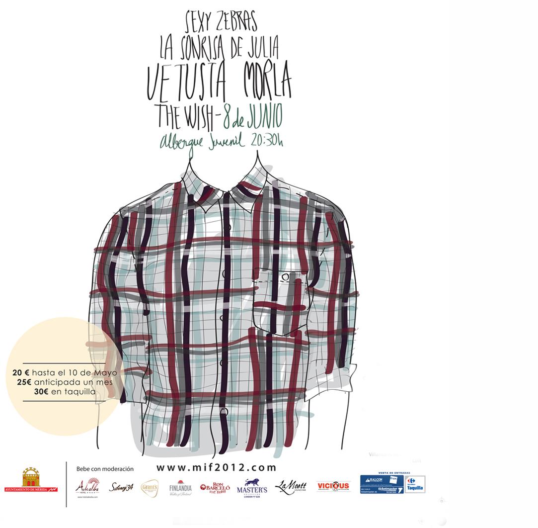 Merida Indie Fest Mif festival cartel vetusta morla elperfildelatostada