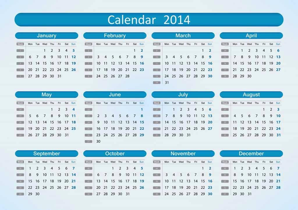 Calendar Q : Printed calendar free desktop for