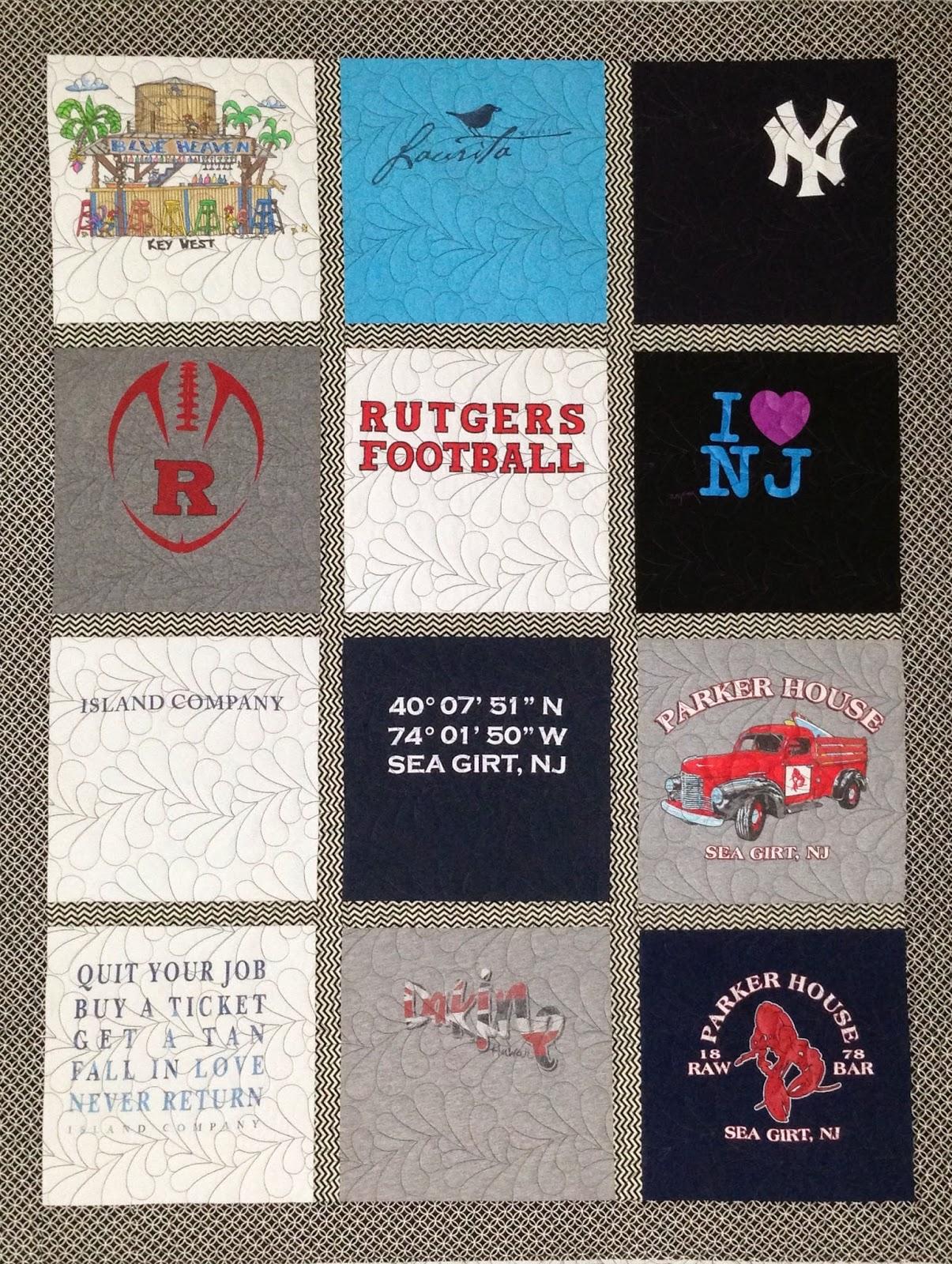 Karen Natale's T-Shirt Quilt