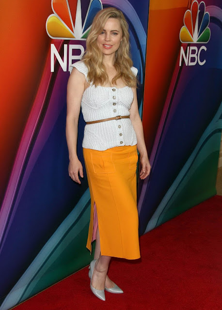 Actress, @ Melissa George - NBC-Universal 2016 Winter TCA Tour in Pasadena