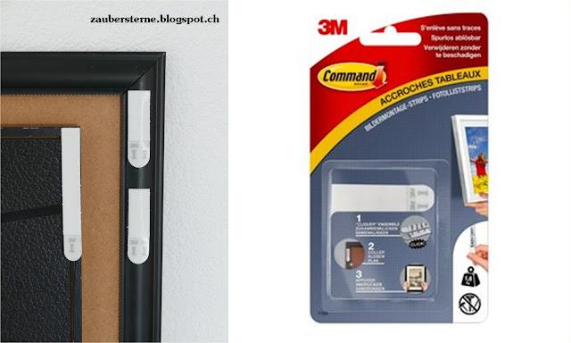 blog schweiz bildermontage mit command strips. Black Bedroom Furniture Sets. Home Design Ideas