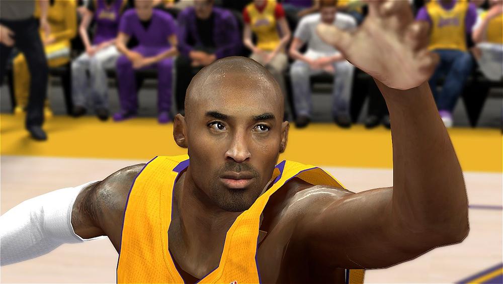 Realistic Kobe's Face NBA 2K14