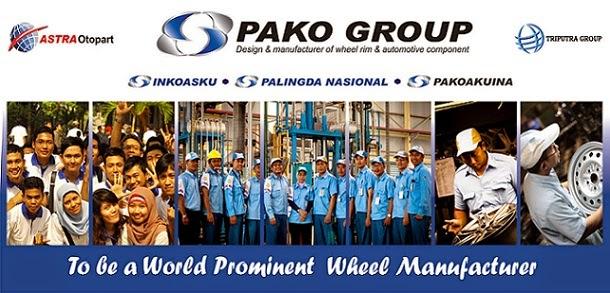 Info Lowongan Kerja Pako Group (Anak Usaha PT Astra