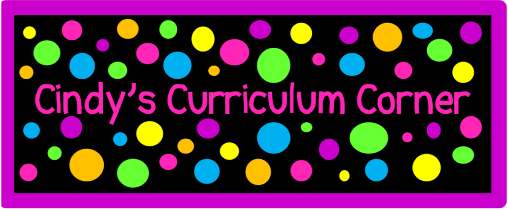 Cindy&#39;s Curriculum Corner