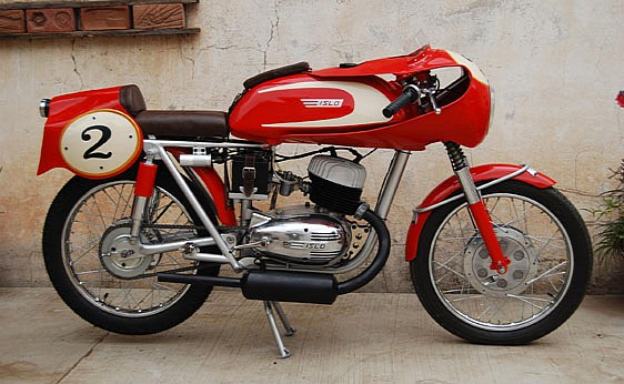 1958 Islo Racer | Custom 1958 Islo Racing bike | vintage motorcycles | Vintage motorcycles sale | Isidoro Lopez  Isidoro Lopez was a Mexican manufacturer of small-displacement motorcycle