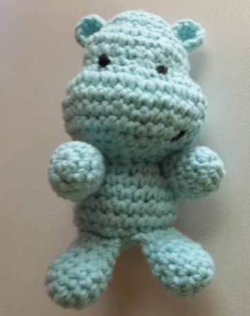 Amigurumi Hippo Pattern Free : Sheep of Delight: Free Amigurumi Crochet Pattern: Happy Hippo