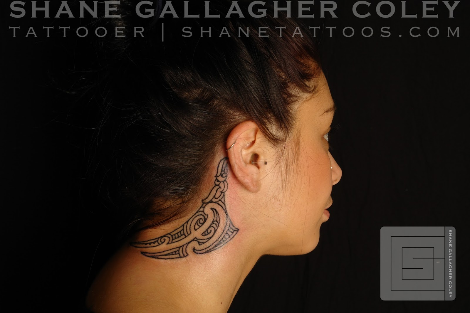 maori polynesian tattoo maori neck tattoo ta moko on lena. Black Bedroom Furniture Sets. Home Design Ideas