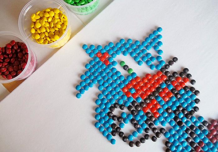 #FueledByMM Pixel Art