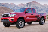 2015 New Toyota Tacoma Edition side tribal view