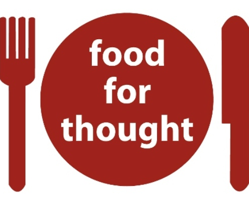 food for thought The food for thought project, inc is a 501c3 non-profit, ongoing food drive and food collection program which provides forsyth county and cumming.