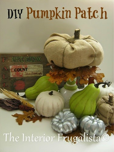 DIY Pumpkins for Fall decorating