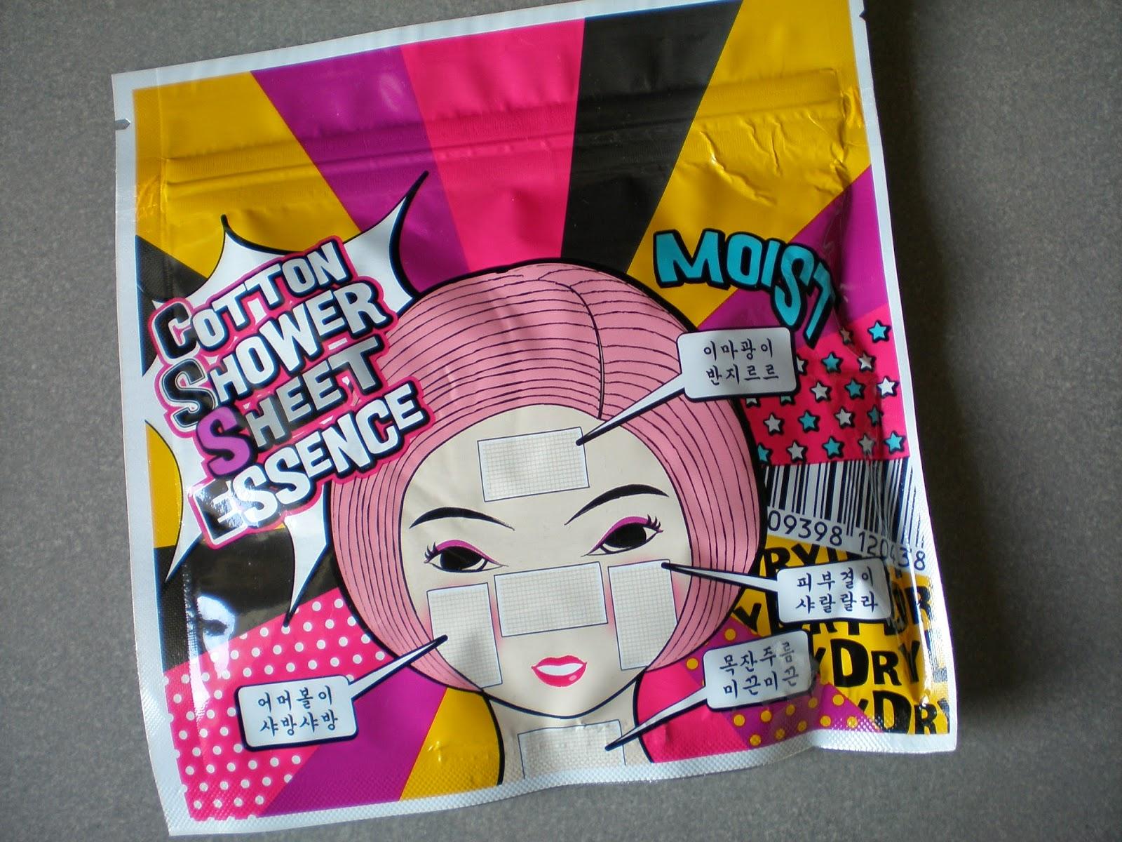 Mizon Cotton Shower Sheet Essence