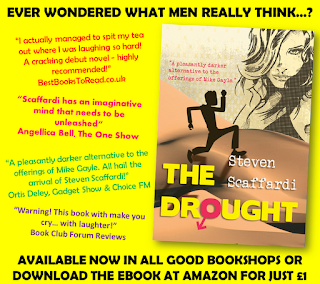 Steven Scaffardi, The Drought, Smashwords, eBook, Lad Lit, Chick Lit, Funny Book,