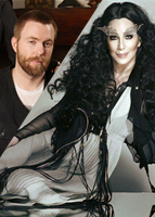 Cher and son Elijah Allman