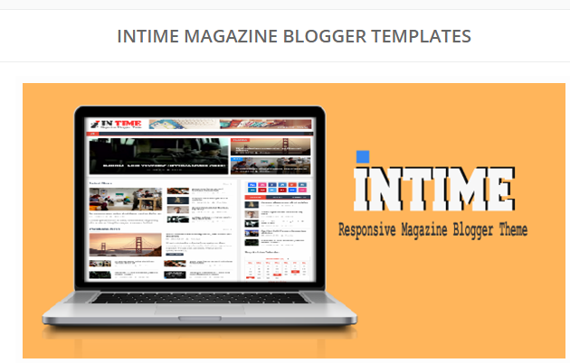 Intime Blogger Template