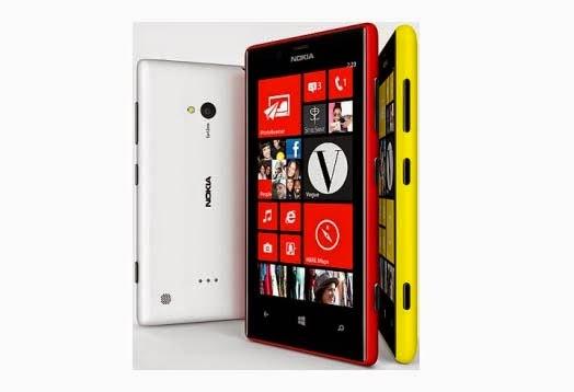Spesifikasi dan Harga HP Nokia Lumia 520 Terbaru