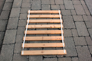 Fjellse slatted bed base