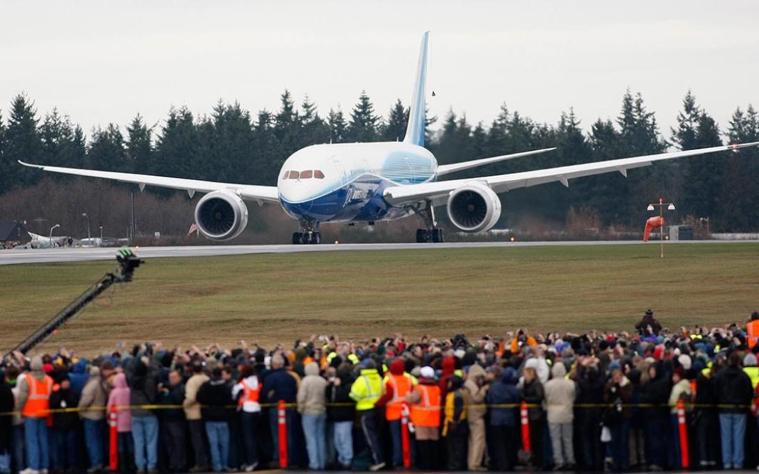 Boeing 787 Dreamliner Aircraft Wallpaper 4