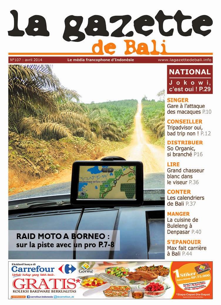 La Gazette de Bali avril 2014