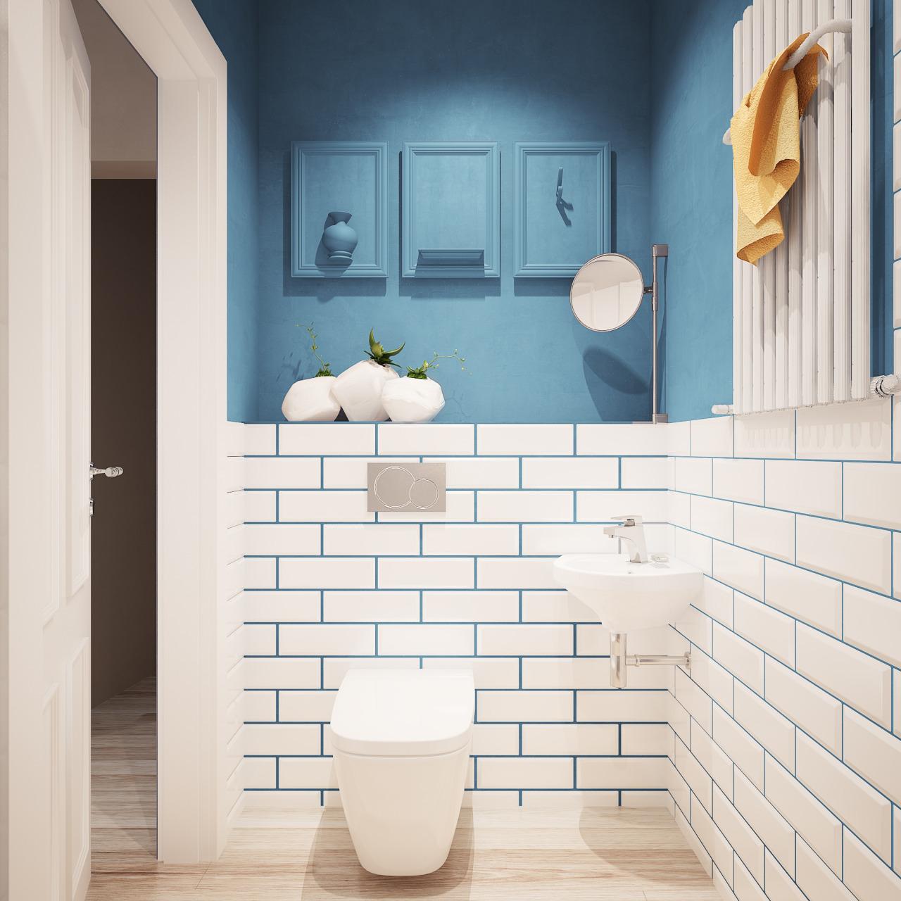 Дизайн ванной комнаты 4.5 кв.м 2017-2018 современные идеи