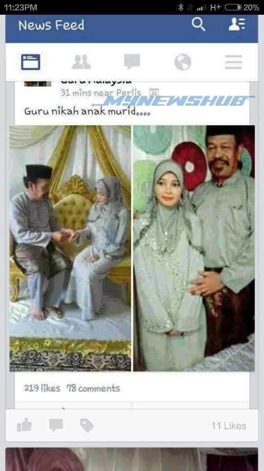Gambar Guru Kahwin Dengan Anak Murid Jadi Viral Info Terkini Berita