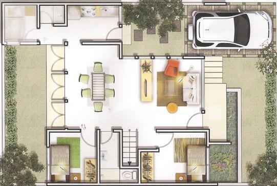 Ragam inspirasi Gambar Desain Rumah Minimalis Terbaru 2015 yang apik