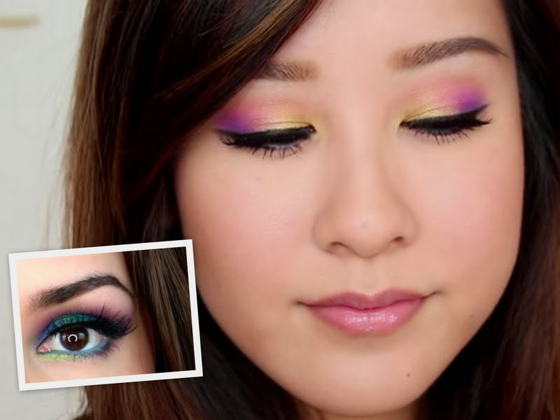 Video Of The Week: Sunset And Colorful Makeup Tutorial