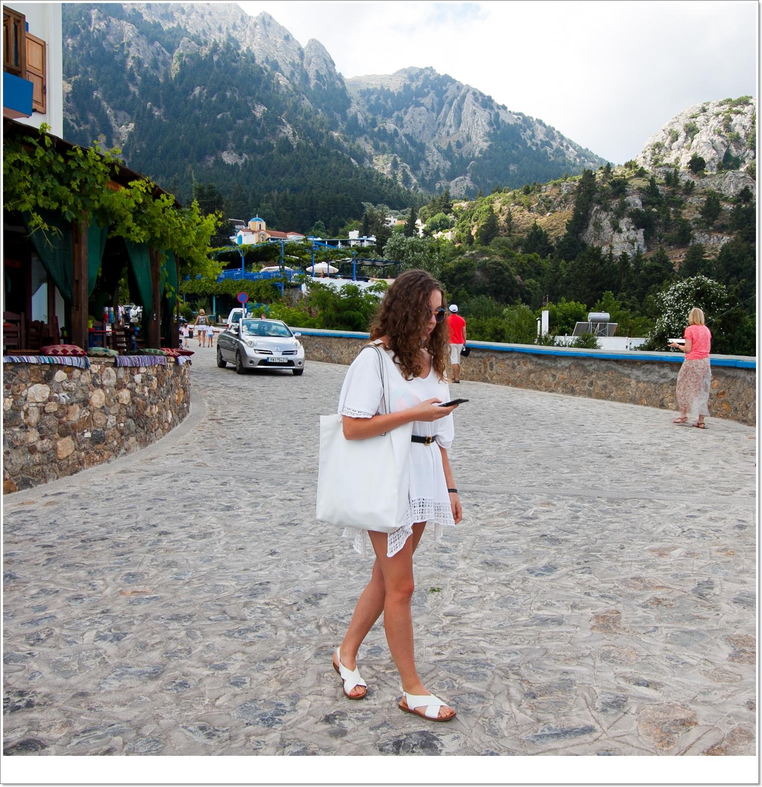 malownicza miejscowość położona w górach Zia