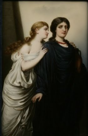 a comparison of antigone and ismene in the antigone by sophocles Get an answer for 'compare and contranst antigone and ismenecompare and contrast antigone and her sister ismene, showing how the two contribute to the play and how ismene is a foil.