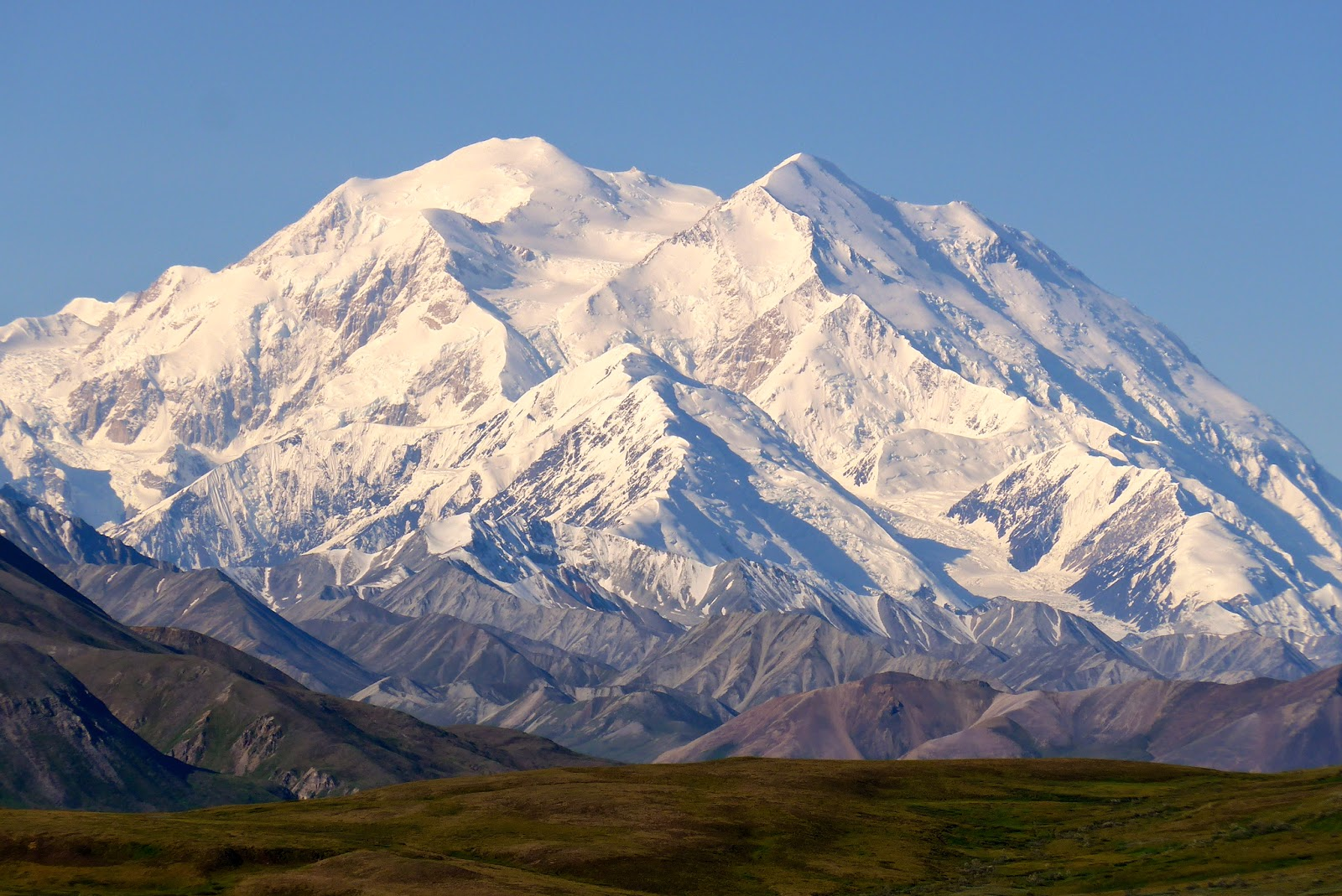 Denali ( formerly Mount McKinley )