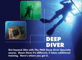 PADI Deep Diver - Greece