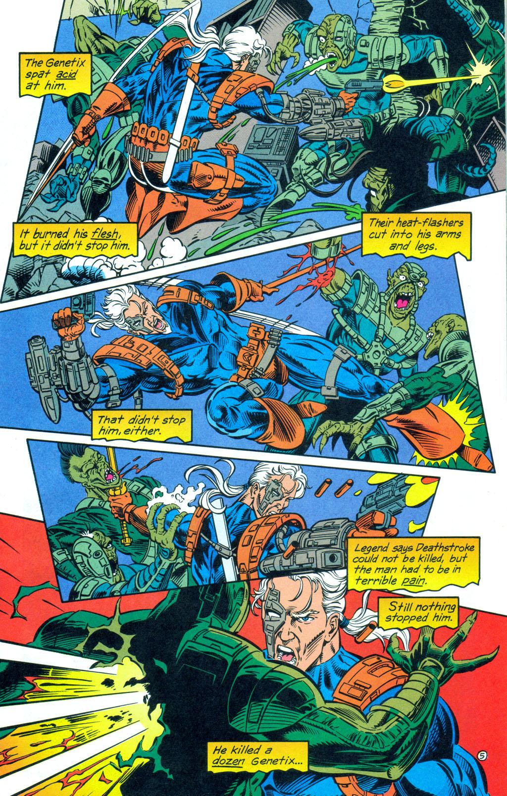 Deathstroke (1991) Annual 3 #3 - English 6