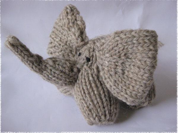 Elephant Ears Knitting Pattern : A Journey: Knitting little elephant and little giraffe