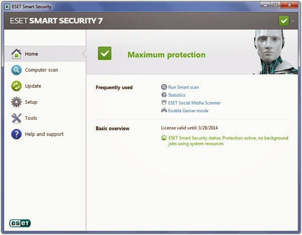 eset smart security 9 activation key