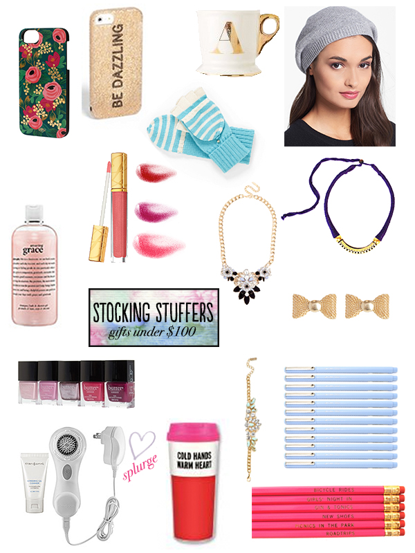 Gift Guide Stocking Stuffers Gifts Under 100