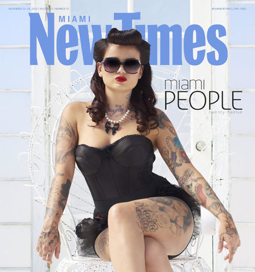 Tatu Baby From Ink Master Makes Miami New Times: Miami People 2012