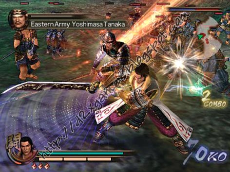 Free Download Games - Samurai Warriors 2