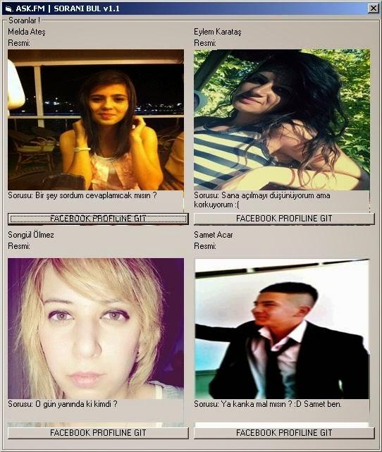 Ask.Fm Anonim Bulma Programı İndir 2014