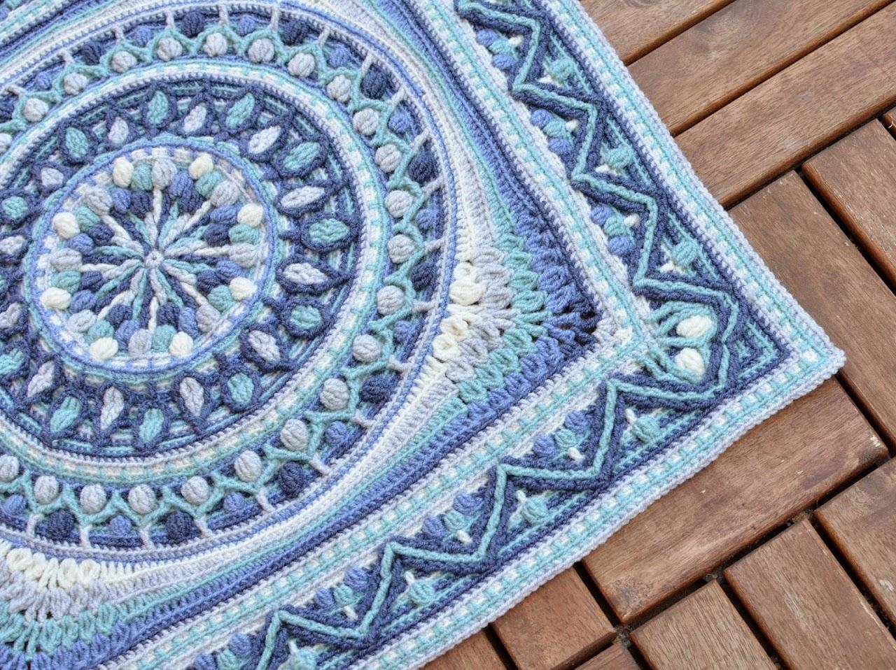Large Square Mandala