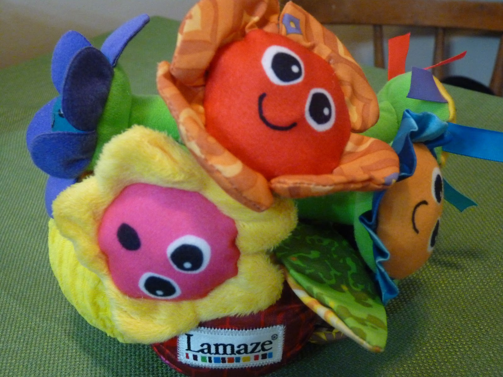 Growing Little Ones Lamaze Soft Chime Garden Toy Review