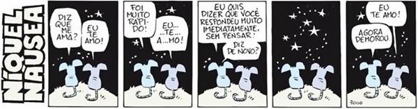 tirinha, Níquel Náusea, Fernando Gonsales
