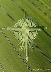 Na época dos Crop Circles