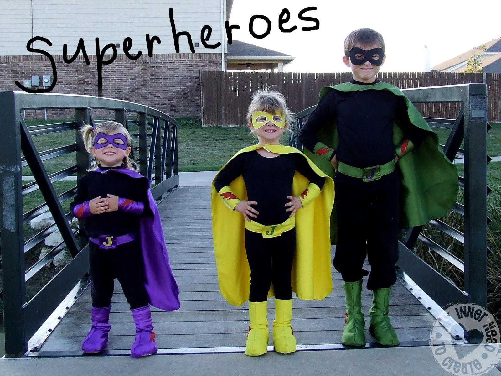 My Inner Need to Create: Superhero Costumes