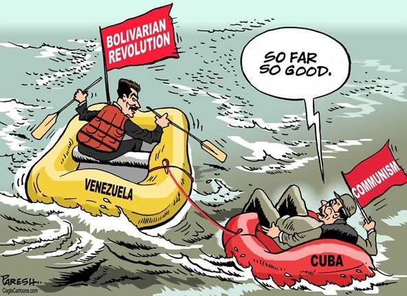 Maduro cartoon,raul castro cartoon,political cartoon