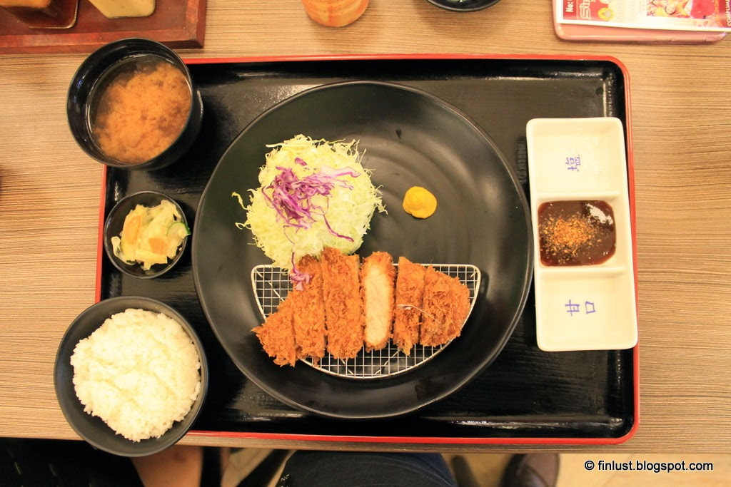 Kurobuta Rosu Katsu (Deep Fried Black Pork Loin)