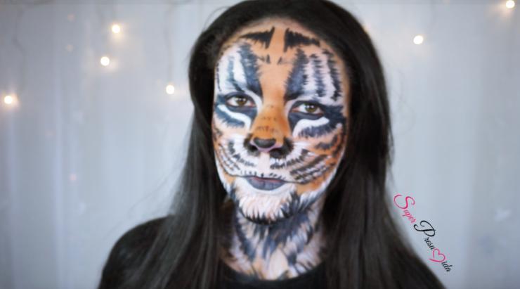 halloween+tigre+halloween tigre+maquiagem+tutorial+maquiagem tigre+youtube+passo a passo+noite de halloween+maquiagem artistica+maquillaje+shirley+medeiros+shirley medeiros+super+presumida+superpresumida