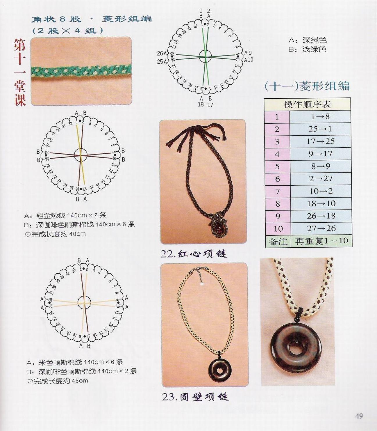 Схемы для кумихимо 16 нитей фото