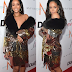 Rihanna Dazzles in Cleavage baring outfit at Fashion Los Angeles Awards(Photos)